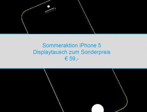 iPhone 5 Displaytausch *Sommeraktion*