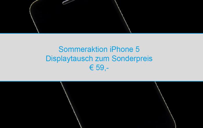 iPhone 5 Displaytausch