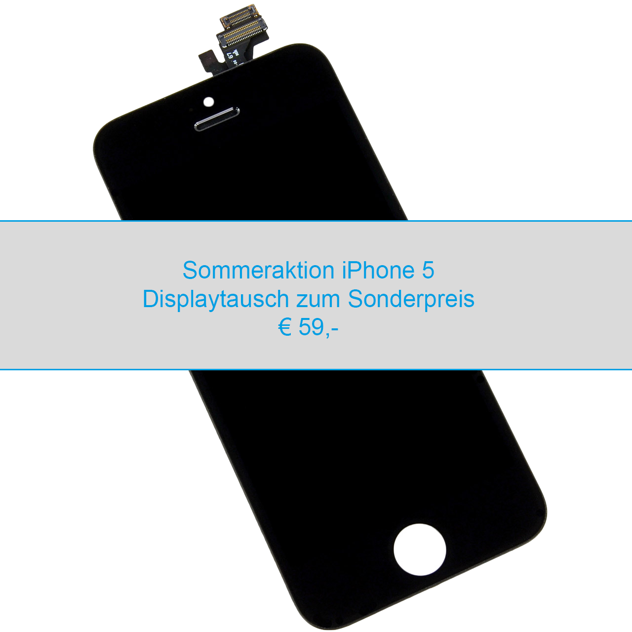 iPhone 5 Displaytausch