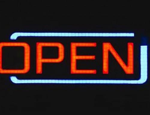 Unser Geschäft ist ab 14. April wieder geöffnet