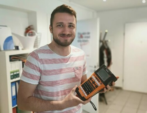 Neues Spielzeug – Brother P-touch E550W