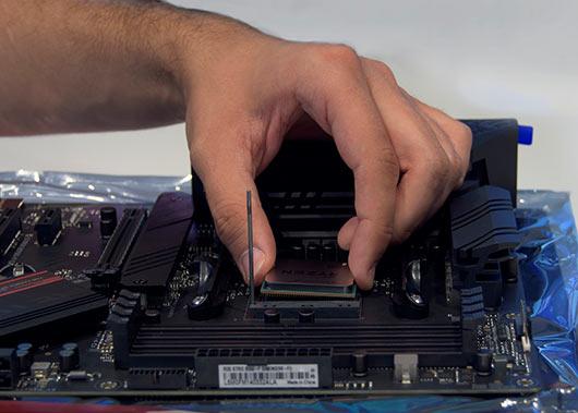 CPU lucesem